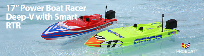 17-inch Power Boat Racer Deep-V RTR