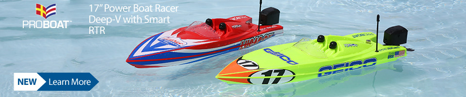 New Pro Boat Ready to Run 17 inch Deep V RC Power Boat