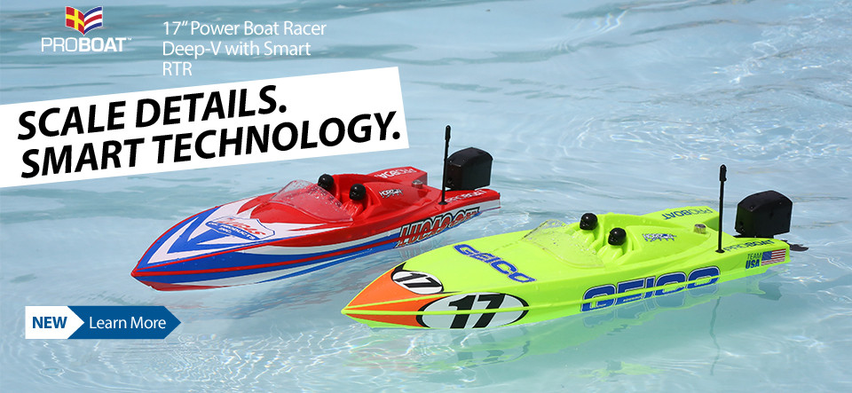 Pro Boat Power Boat Racer Deep-V RTR