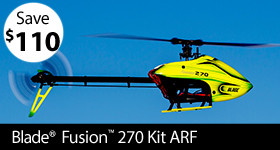 Blade Fusion 270 Kit ARF
