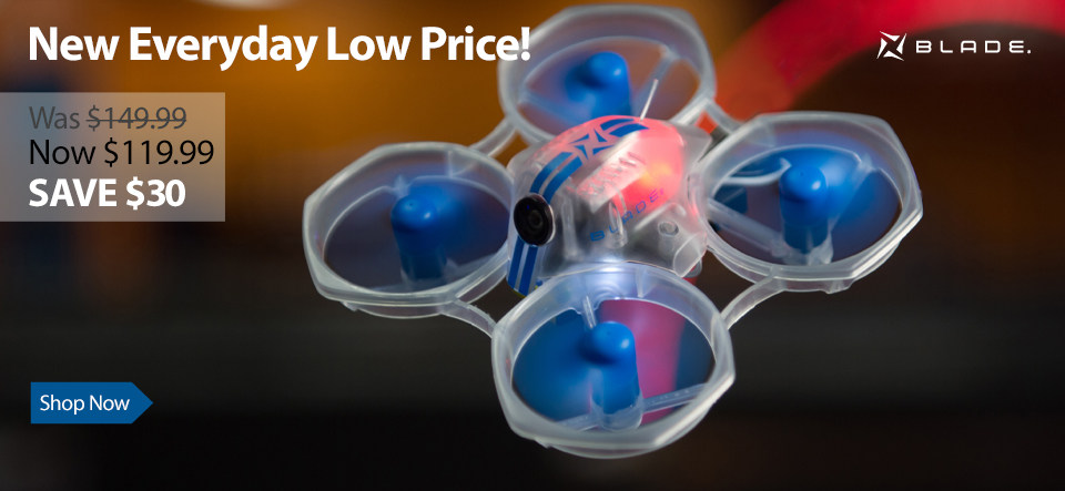 Blade Inductrix FPV BL BNF Basic RC Quadcopter
