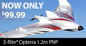 E-flite Opterra 1.2m PNP