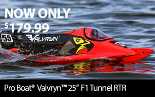 New Low Price! Pro Boat Valvryn 25 RTR