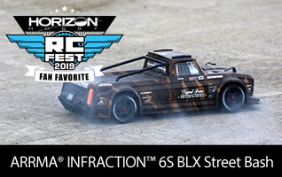 ARRNA 1/7 INFRACTION All-Road Street Bash 6S BLX with Spektrum RTR with AVC