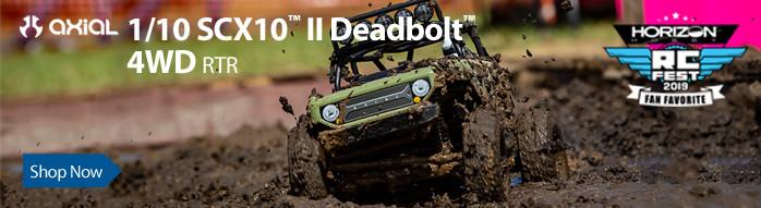 Axial RC 1/10 SCX10 II Deadbolt 4WD RTR