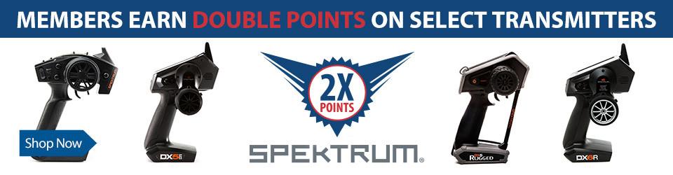 Earn 2x Points on Spektrum Transmitters