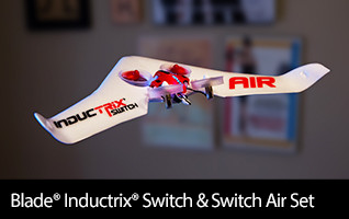 Blade Inductrix Switch RTF with Switch Air Wing set