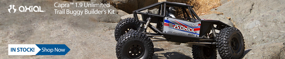 In Stock! Capra 1.9 Trail Buggy Builders Kit