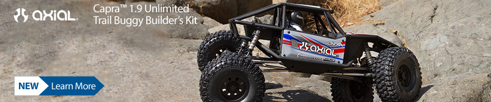 New! Capra 1.9 Trail Buggy Builders Kit
