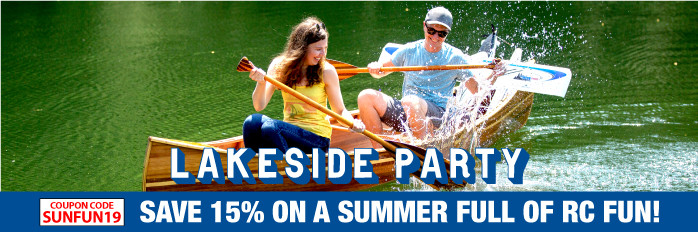Lakeside RC Party Sale! Save 15%