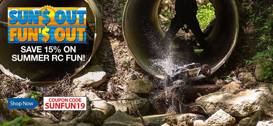 Sun'$ Out Fun'$ Out - Save 15% on select products with coupon code SUNFUN19 now through September 2, 2019