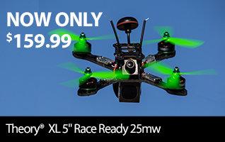 Blade Theory XL 5-inch FPV BNF Basic Drone