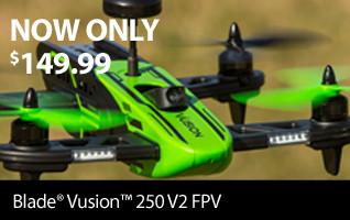 Now Only $149.99! Blade Vusion 250 V2 FPV RTF