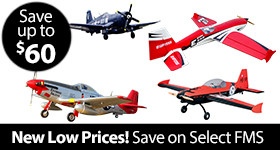 New Low Prices on Select FMS - Save up to $60