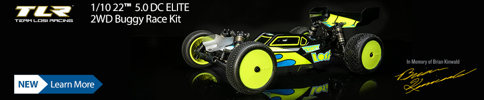 New! TLR 22 5.0 DC ELITE Kit