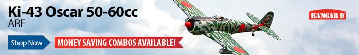 Hangar 9 Ki-43 Oscar 60cc 88
