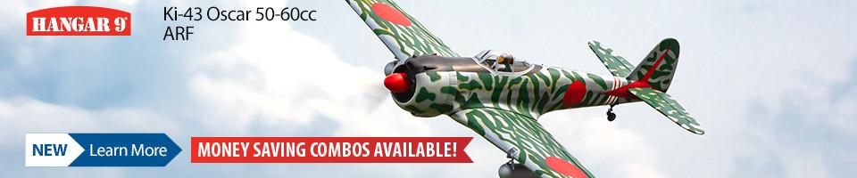 New Hangar 9 Ki-43 Oscar WWII RC Warbird
