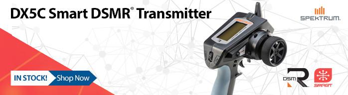Spektrum DX5C Smart 5-Channel DSMR Transmitter Only