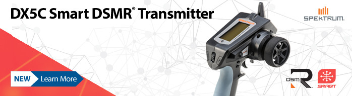 New! Spektrum DX5C Smart Transmitter