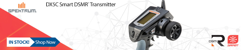In Stock! Spektrum DX5C Smart Transmitter