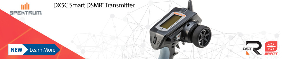 New! Spektrum DX5C Smart Transmitter