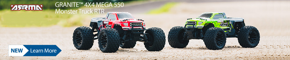 New! ARRMA GRANITE MEGA