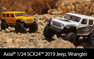 Axial 1/24 SCX24 2019 Jeep Wrangler JLU CRC Rock Crawler 4WD RTR