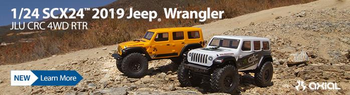 New! Axial SCX24 2019 Jeep Wrangler JLU CRC RTR