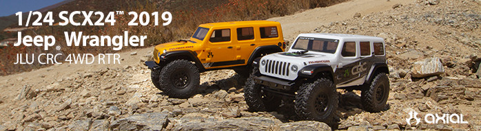 Axial 1/24 SCX24 2019 Jeep Wrangler JLU CRC 4WD RTR