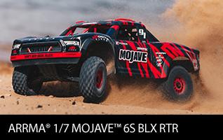 ARRMA 1/7 MOJAVE 6S BLX 4WD Desert Truck RTR