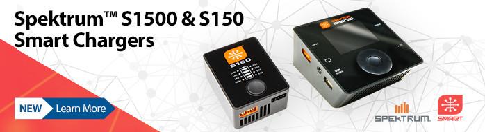 New! Spektrum S1500 & S150 Smart Chargers