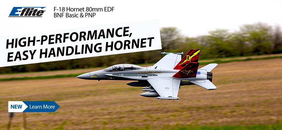 New! E-flite F-18 Hornet