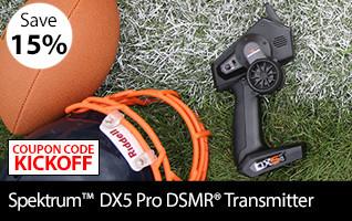 Spektrum DX5 Pro 5-Channel DSMR Transmitter