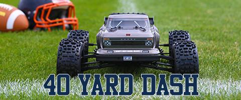 40 Yard Dash save 15%