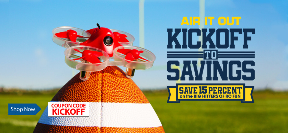 Kick Off To Savings - Save 15%