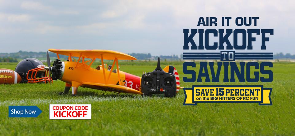 Kick Off To Savings - Save 15%