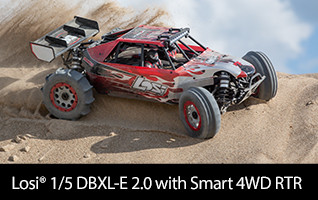 LOSI 1/5 Desert Buggy XL-E 2.0 4WD Brushless RTR with Smart