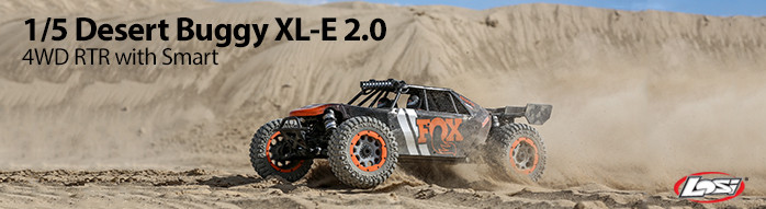 Losi 1/5 Desert Buggy XL-E 2.0 4WD RTR with Smart