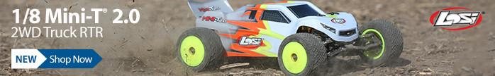 Losi 1/18 Mini-T 2.0 2WD Stadium Truck RTR