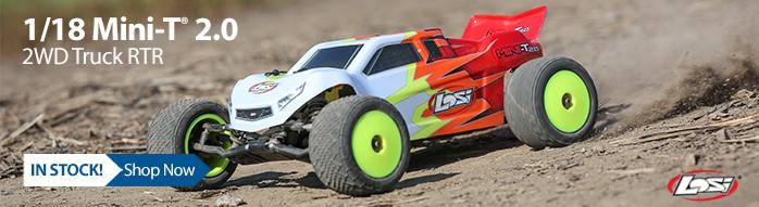 New! Losi 1/18 Mini-T 2.0 2WD Stadium Truck RTR
