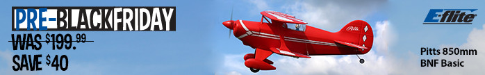 Pitts S-1S 850mm BNF Basic