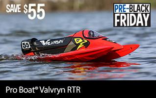 Pre-Black Friday SAVE 55 on the Pro Boat Valvryn RTR