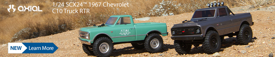 New! Axial SCX24 1967 Chevrolet C10 RTR