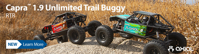 New! Axial Capra 1.9 Unlimited RTR