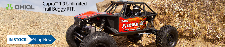 In Stock! Axial Capra 1.9 Unlimited RTR