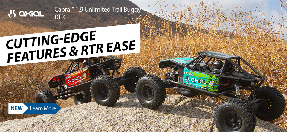 Axial Capra 1.9 Unlimited Trail Buggy 1/10 RTR