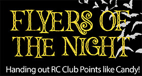 Fliers of the Night - Handing out RC Club Points Like Candy!