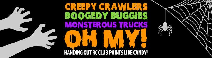 Horizon Hobby Halloween Promotion - Creepy Crawlies, Boogedy Buggies, Monsterous Trucks - OH MY!