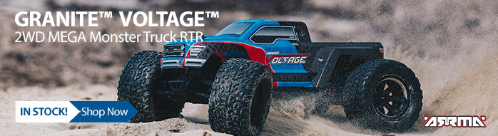 In Stock! ARRMA GRANITE VOLTAGE RTR