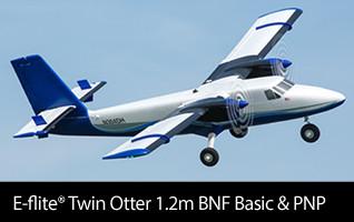 E-flite Twin Otter 1.2m BNF Basic & PNP
